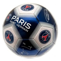 Paris Saint - Germain F.C. football ball (Signatures)