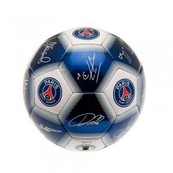 Paris Saint - Germain F.C. treniruočių mini kamuolys (Su parašais)