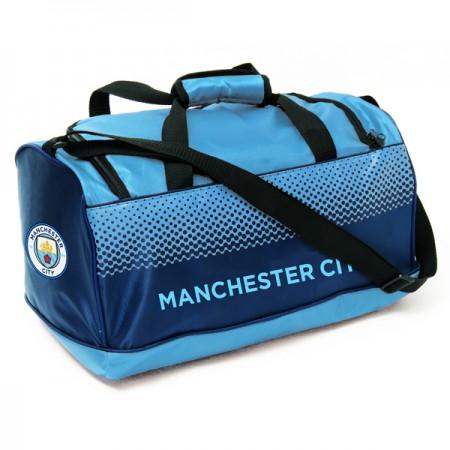 Manchester City F.C. kelioninis krepšys (Taškuotas)
