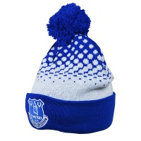 Everton F.C. text cuff knited hat