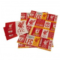Liverpool F.C. gift wrap set (Red)