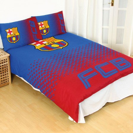 F.C. Barcelona dvigulės, dvipusės patalynės komplektas (Fade)