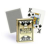 Copag Texas Hold'em pokerio kortos (Juodos)