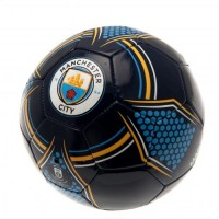 Manchester City F.C. futbolo kamuolys (Juodas)