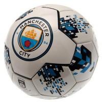 Manchester City F.C. futbolo kamuolys (Baltas)