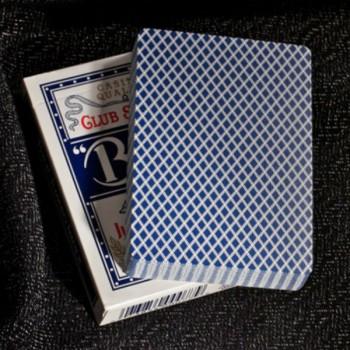 Bee Jumbo pokerio kortos (Mėlynos)