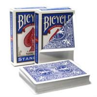 Bicycle Rider back no face kortos (Mėlynos)