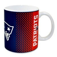 New England Patriots puodelis