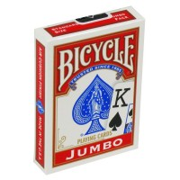 Bicycle Rider Jumbo poker cards (Red)