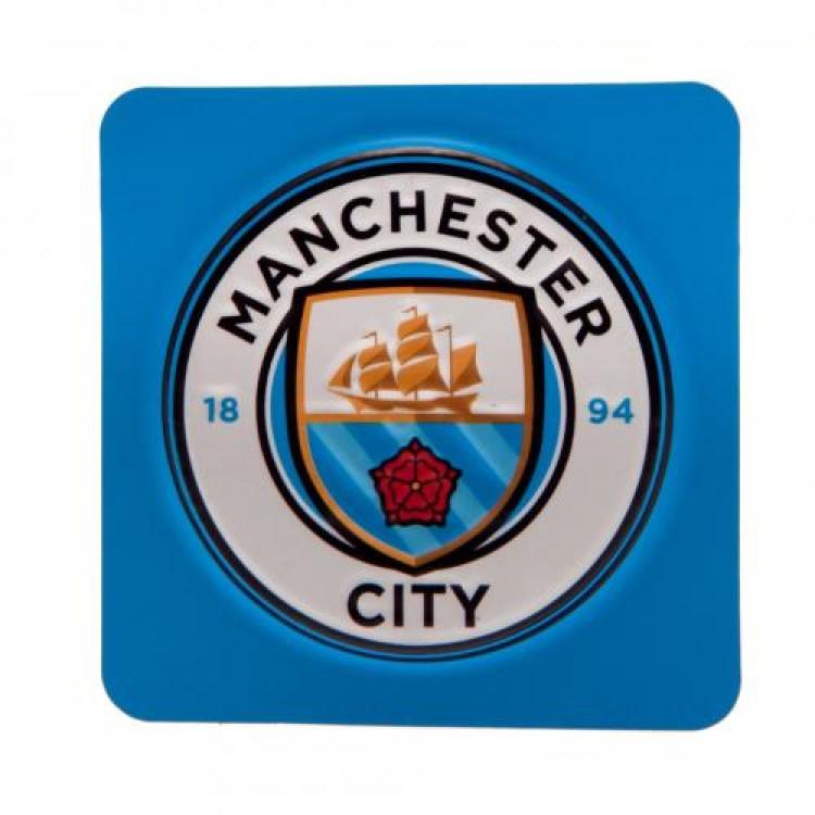 Pradžia Manchester City F.C. šaldytuvo magnetas (kvadratinis 2)
