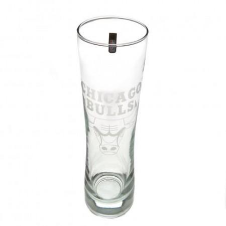 Chicago Bulls stiklinė alaus taurė