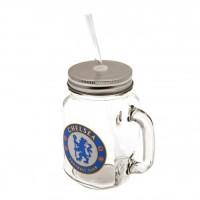 Chelsea F.C. stiklinė su dangteliu