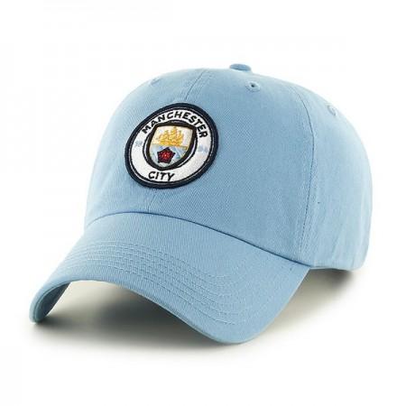 Manchester City F.C. kepurėlė su snapeliu (šviesiai mėlyna)