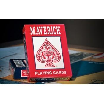 Maverick Standard Index kortos (Raudonos)