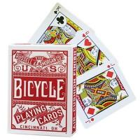 Bicycle Chainless (Raudonos)