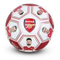 Arsenal F.C. futbolo kamuolys (Žaidėjų nuotraukos ir autografai)