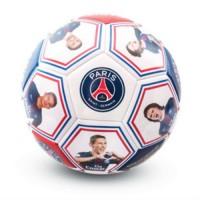 Paris Saint Germain F.C. futbolo kamuolys (Žaidėjų nuotraukos ir autografai)