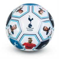 Tottenham Hotspur F.C. futbolo kamuolys (Žaidėjų nuotraukos ir autografai)