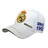 Real Madrid C.F. kepurėlė su snapeliu (Balta)