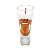 Manchester United F.C. stiklinė alaus taurė (Logotipas)