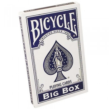 Bicycle Big Box kortos (Mėlynos)