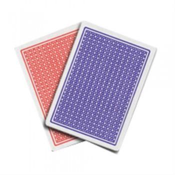 Fournier De Luxe 818 pokerio kortos (Raudonos)
