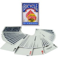 Bicycle Rider Back Stripper kortos (Mėlynos)