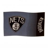 Brooklyn Nets vėliava (Pilka)