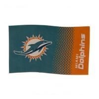 Miami Dolphins vėliava (Taškuotas)