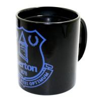 Everton F.C. spalvą keičiantis puodelis