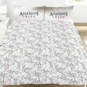 """Žaidimo """"Assassin's Creed Montage"""" dvigulės patalynės komplektas"""