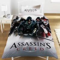 "Žaidimo ""Assassin's Creed Montage"" dvipusis patalynės komplektas"