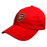 Arsenal F.C. kepurėlė su snapeliu (raudona)