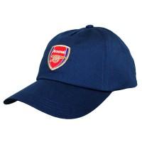 Arsenal F.C. kepurėlė su snapeliu (tamsiai mėlyna)