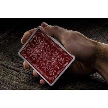 Theory11 Monarchs kortos (Raudonos)