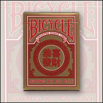 Bicycle Gong Xi Fa Cai kortos