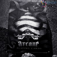 Ellusionist Arcane Black Mini Bicycle kortos