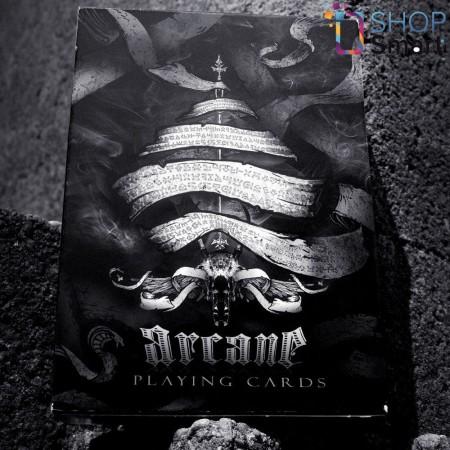 Ellusionist Arcane Black Mini Bicycle kortos