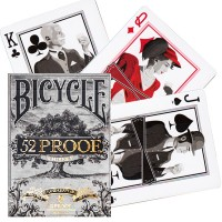 Ellusionist 52 Proof Prohibition Bicycle kortos