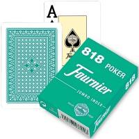 Fournier 818 pokerio kortos (Žalia)
