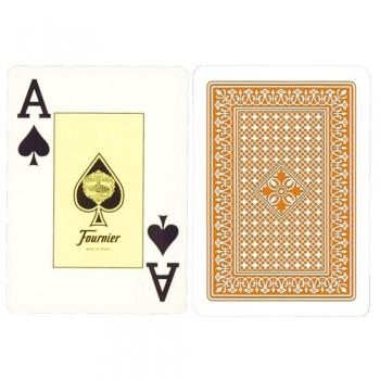 Fournier 818 pokerio kortos (Orandžinė)