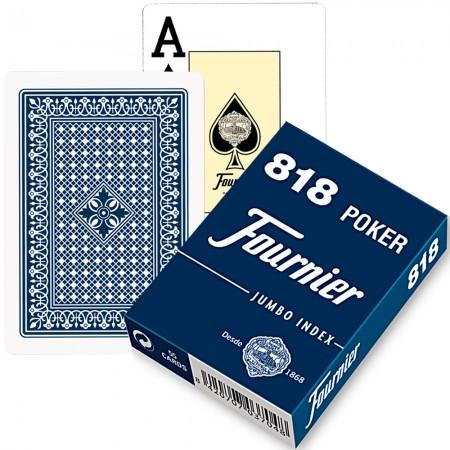 Fournier 818 pokerio kortos (Mėlyna)
