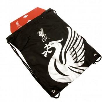 Liverpool F.C. sportinis maišelis (Juodas)