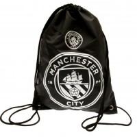 Manchester City F.C. sportinis maišelis (Juodas)