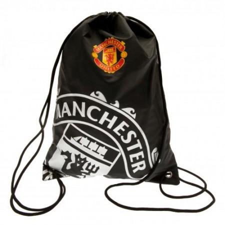 Manchester United F.C. sportinis maišelis (Juodas)