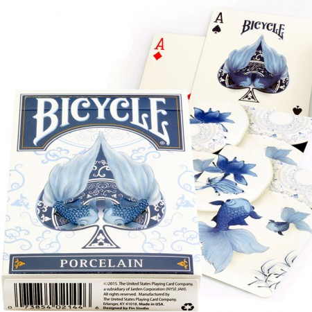 Bicycle Porcelain kortos