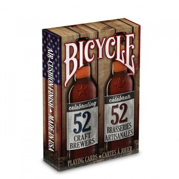 Bicycle Craft Beer Spirit of North America kortos