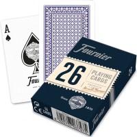 Fournier 26 bridžo kortos (Mėlyna)