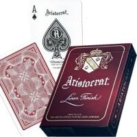 Aristocrat Vintage kortos (Raudonos)