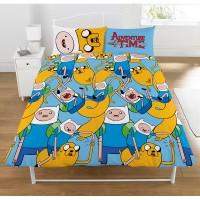 """""""Adventure Time"""" dvigulės dvipusės patalynės komplektas"""